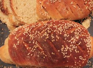 Sesame Walnut Bread