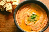 A roast chilli and nuts dip that amazing with most things