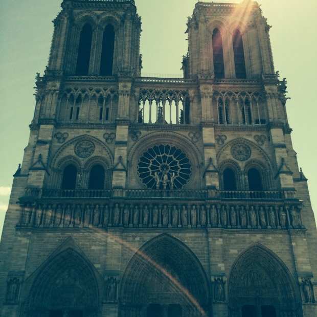 And the amazing Notre Dame. There are cathedrals. And then there are cathedrals.