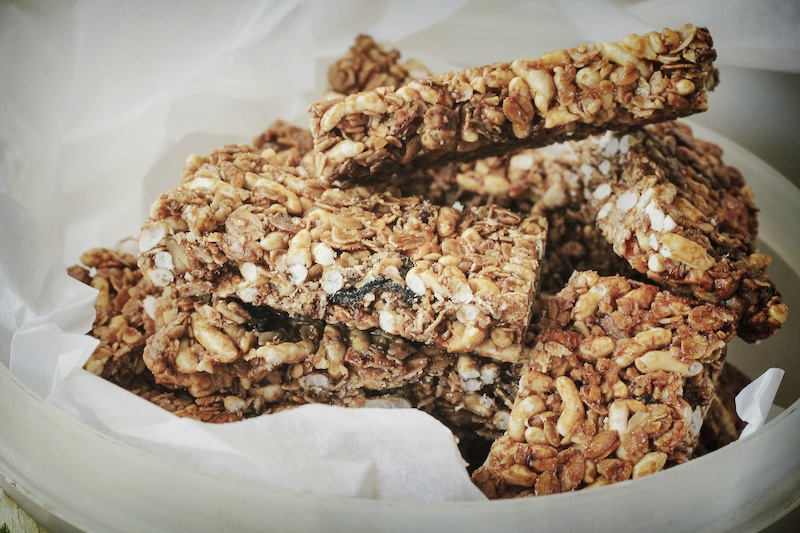Homemade Crunchy Granola Bars