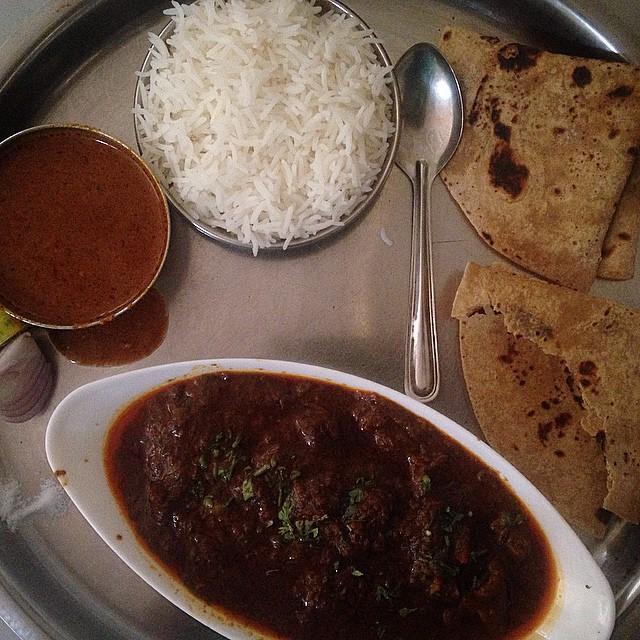 5 mutton thali